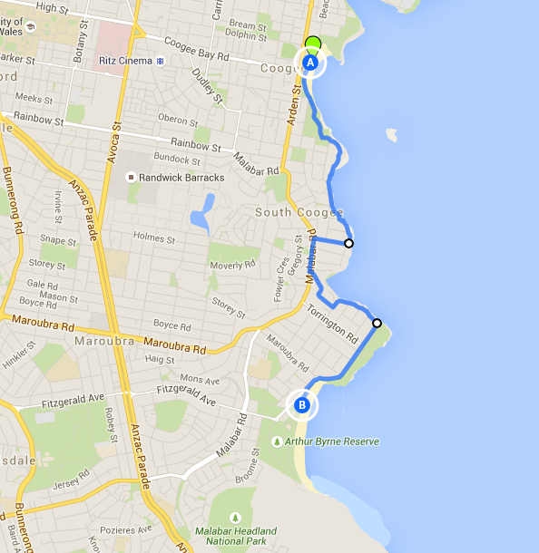 Coogee to Maroubra Walk - a lesser known Sydney walk