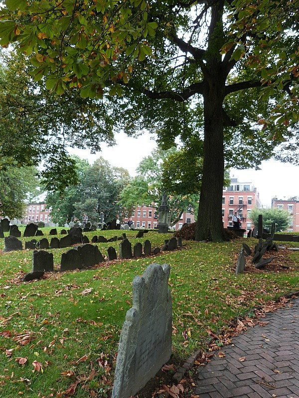 Copp's Hil Burial Ground in Boston
