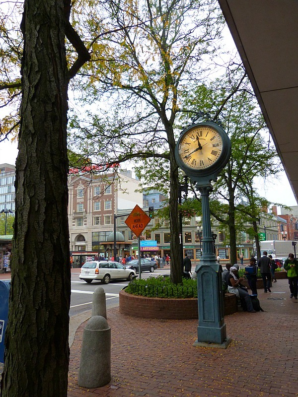 Downtown Cambridge Massachusetts