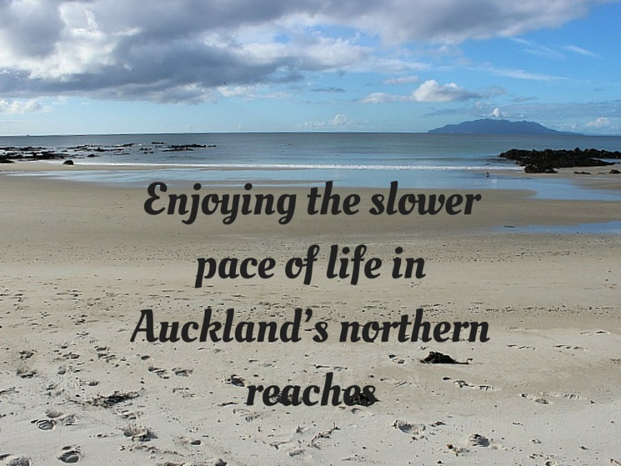 Enjoying the slower pace of life in North Auckland