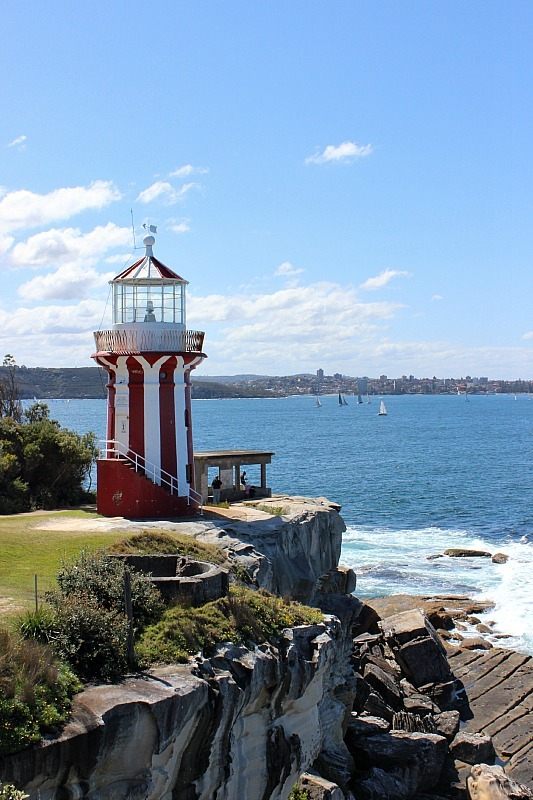 Hornby Light walk in Sydney