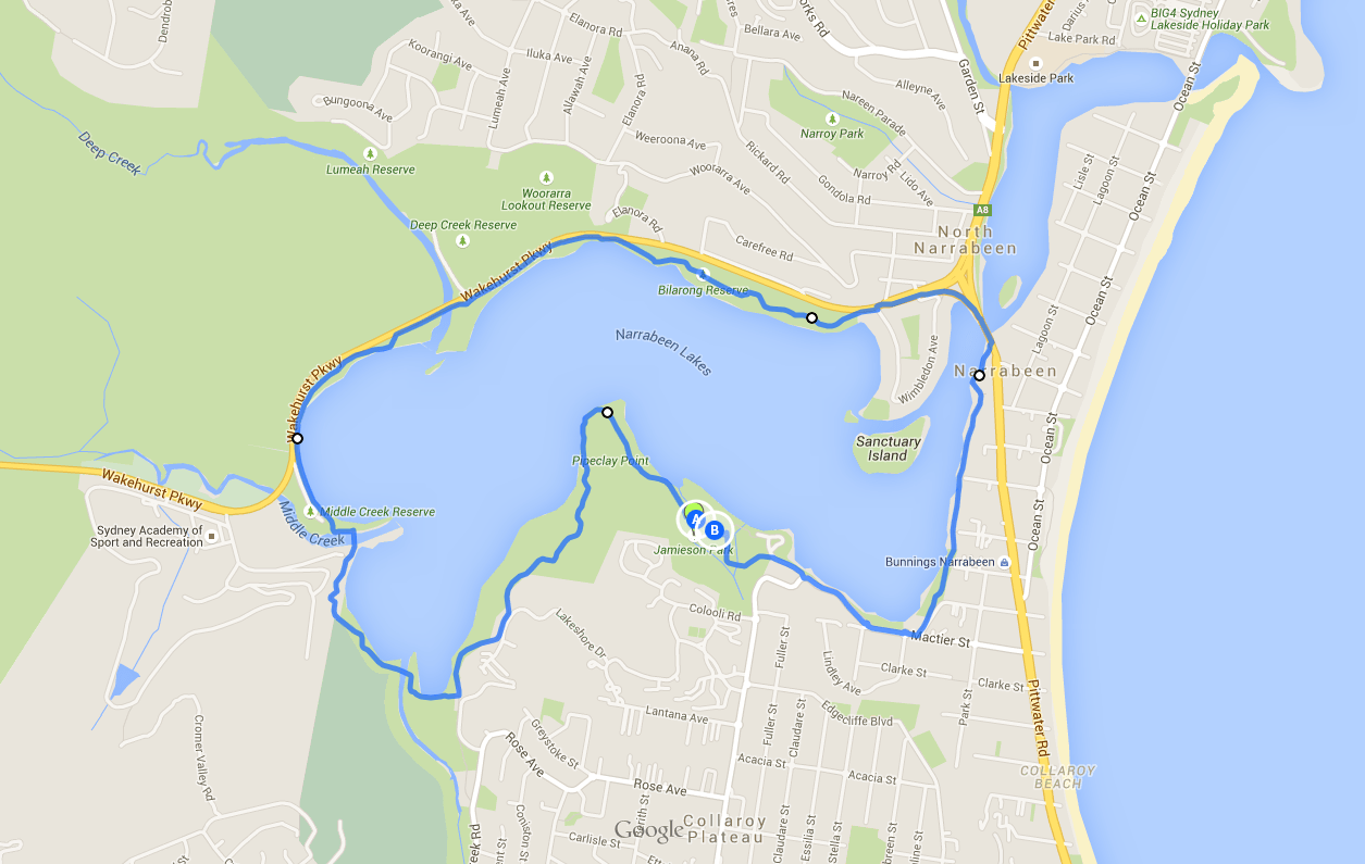 Narrabeen Lakes Loop Walk