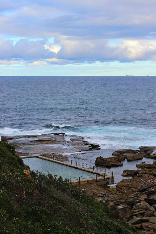 Pool at North Curl Curl on the Dee Why to Manly walk