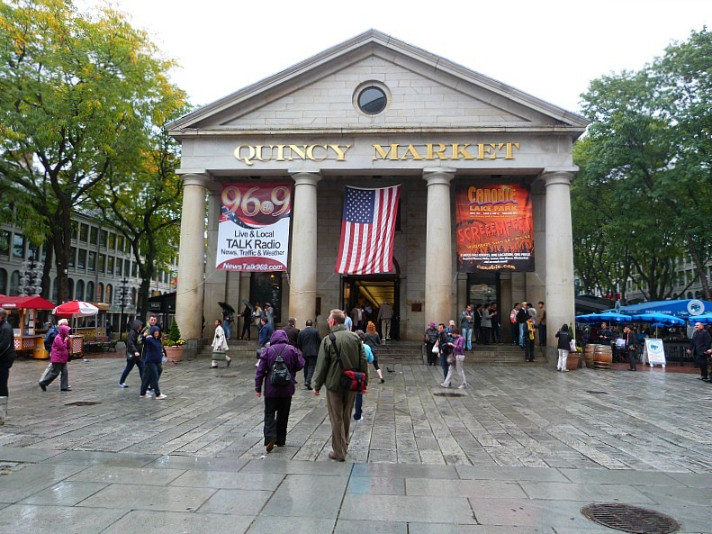 Visit Quincy Market during your Boston in 2 days itinerary
