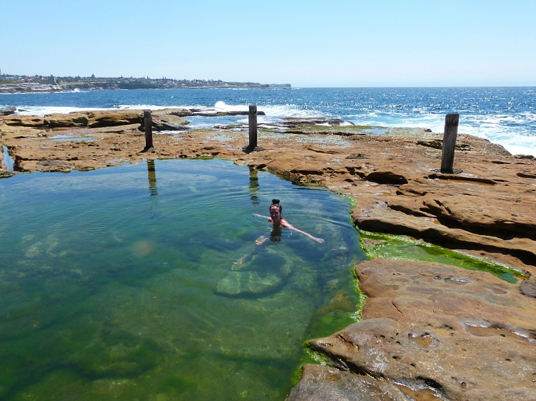Rock pool on Coogee to Maroubra walk