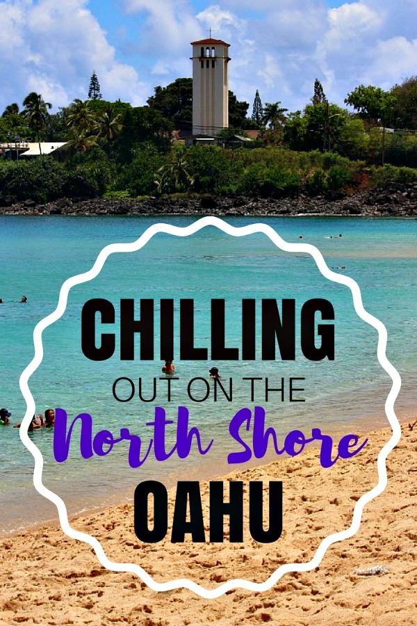 Chilling out on the North Shore Oahu