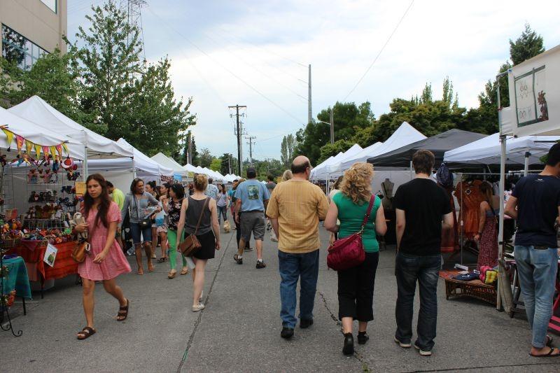 Fremont Market in Seattle Washington