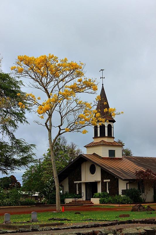 Haliewa church on the North Shore, Oahu