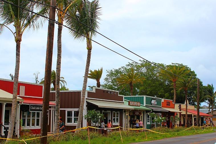 Haliewa on Oahu's North Shore in Hawaii