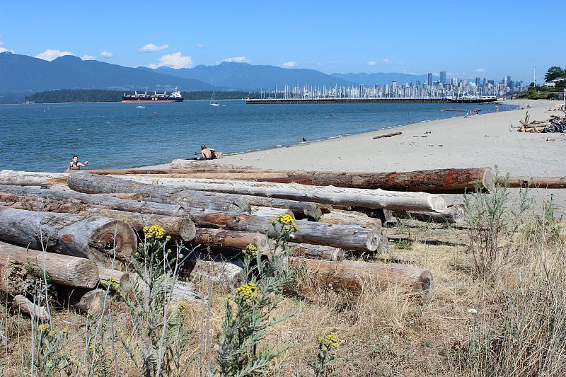 Spend an afternoon at Jericho Beach in Vancouver during your Vancouver itinerary