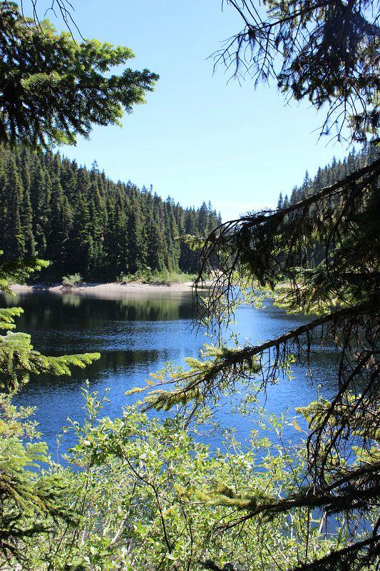Lake on way to Garibaldi Lake
