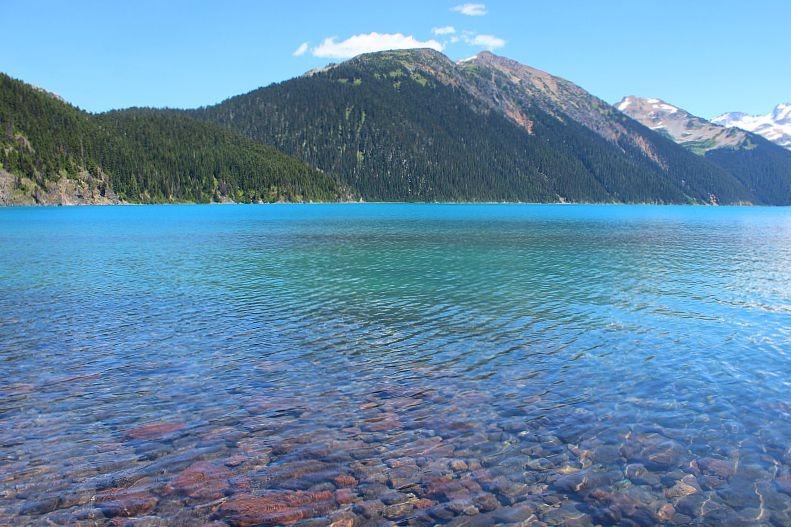 Beautiful Garibaldi Lake - at the end of the Garibaldi Lake trail