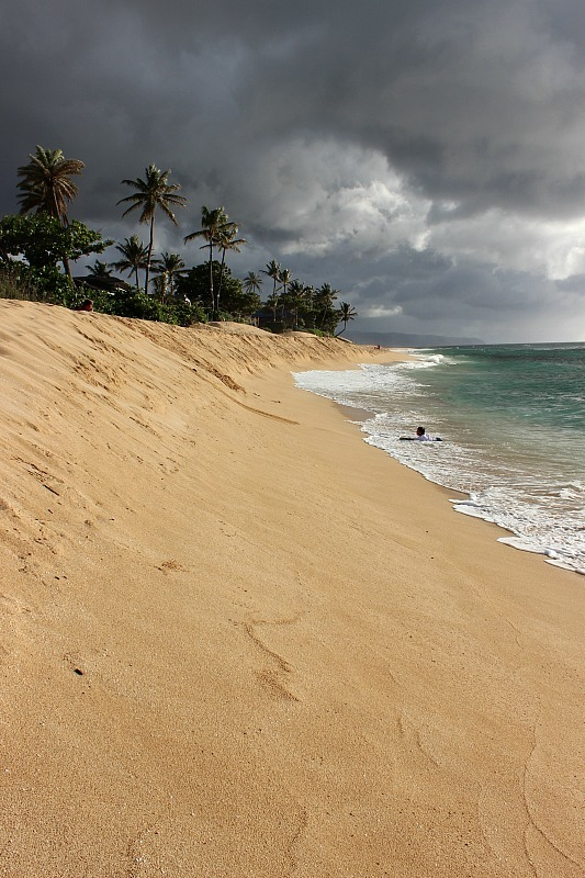 North Shore Oahu beach