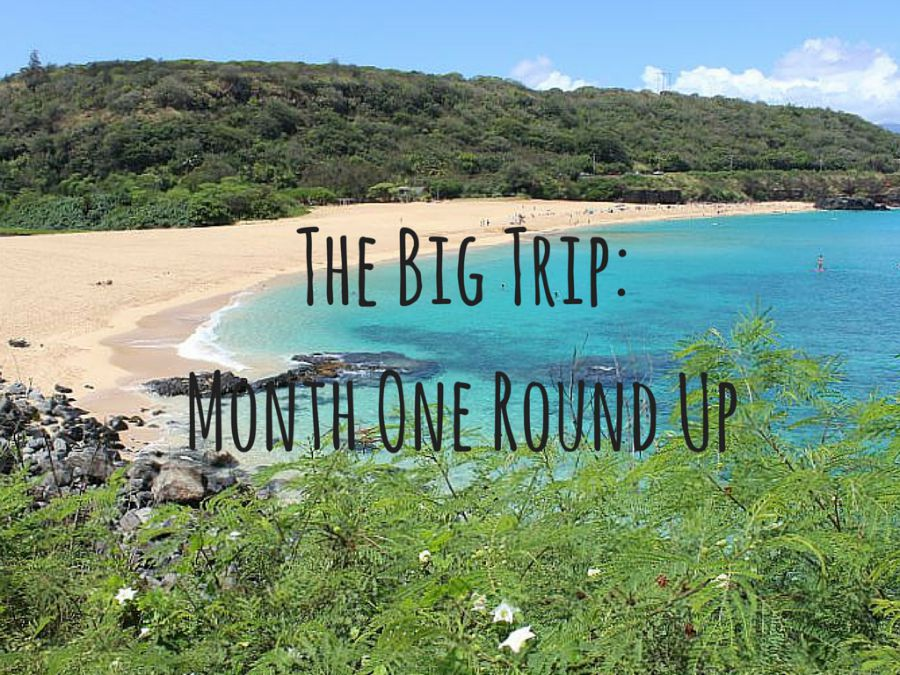 The Big Trip- Month One Round Up
