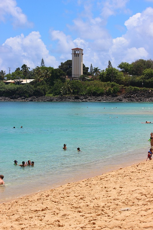 Waimea Bay on the North Shore of Oahu, Hawaii