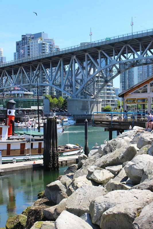 Visit Granville Island Market during your Vancouver 4 day itinerary