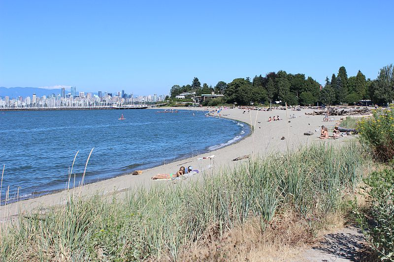 Jericho Beach in Vancouver is the perfect place to spend days of summer in Vancouver