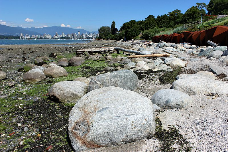 Explore the foreshore in Kits during your Vancouver Itinerary 4 days