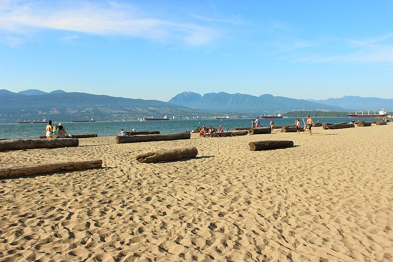 Locarno Beach - a perfect place to spend summer in Vancouver