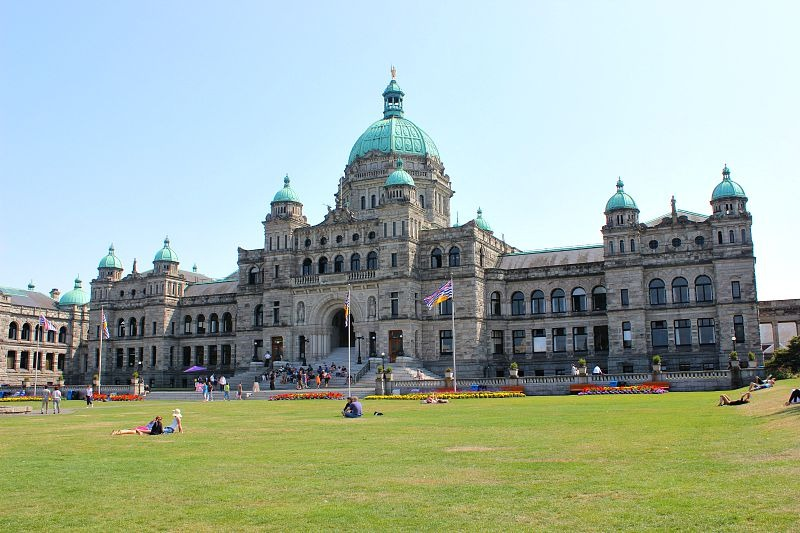 British Columbia Parliament in Victoria