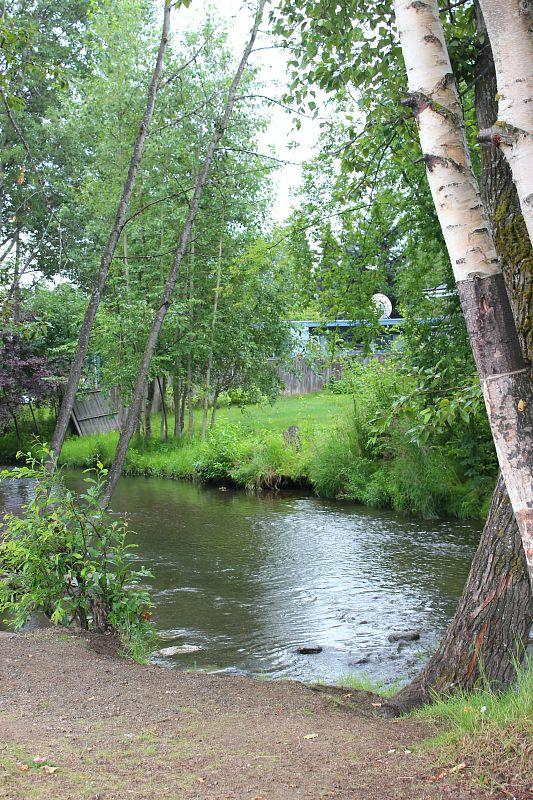 Chester Creek in Anchorage Alaska