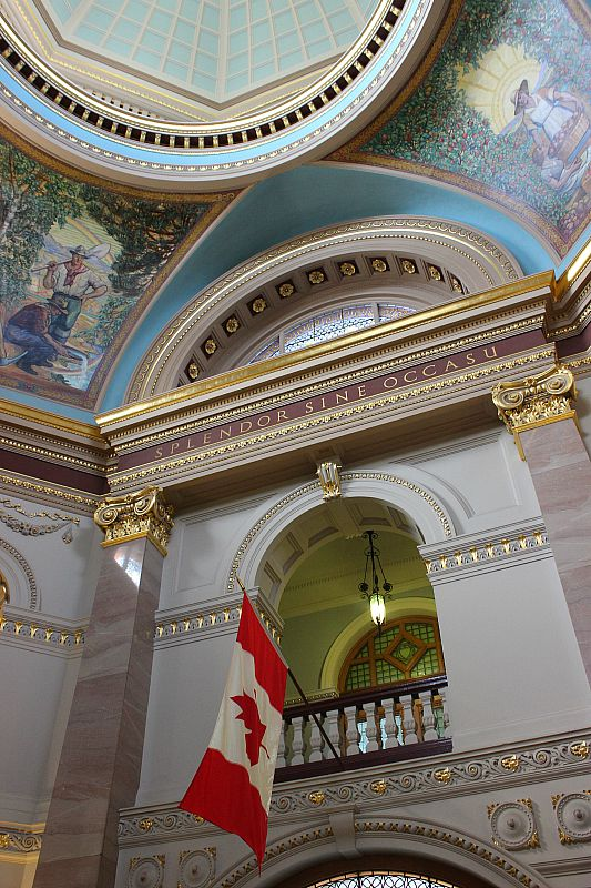 Inside British Columbia Parliament