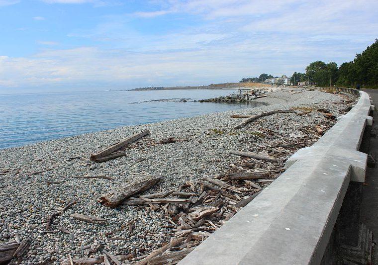 Seawall in Victoria Canada