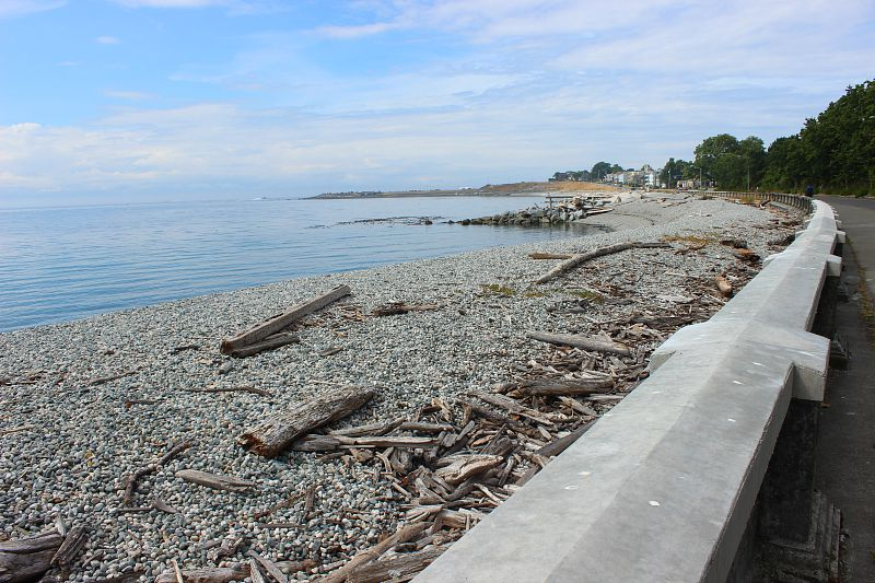 Seawall in Victoria
