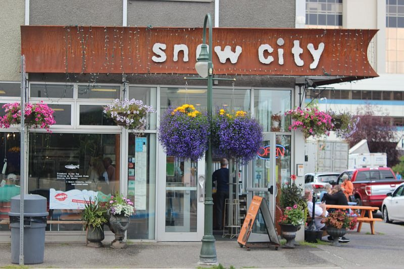 Snow City Cafe in Anchorage - one of my favorite stops on my Eating Anchorage mission