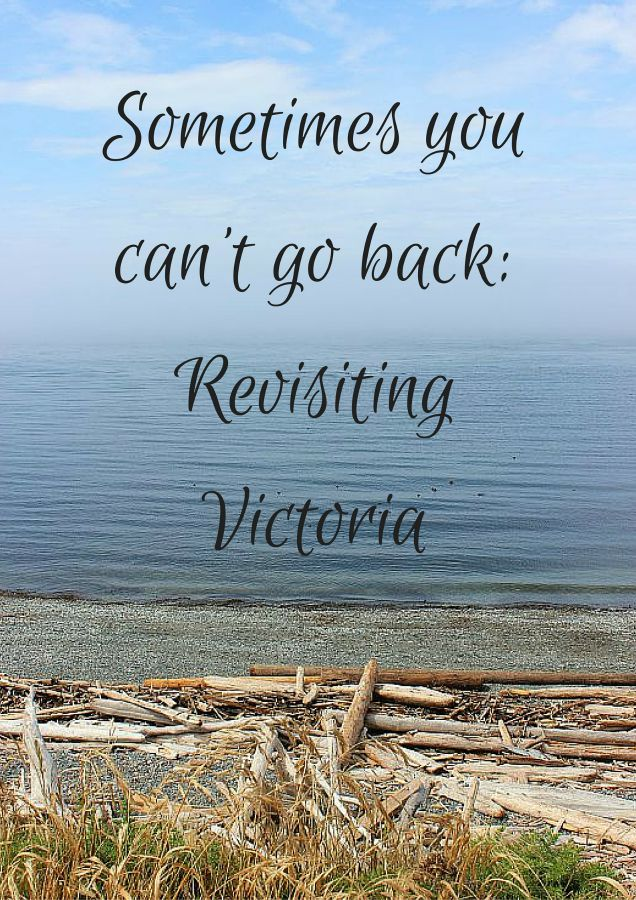 Sometimes you can't go back- Revisiting