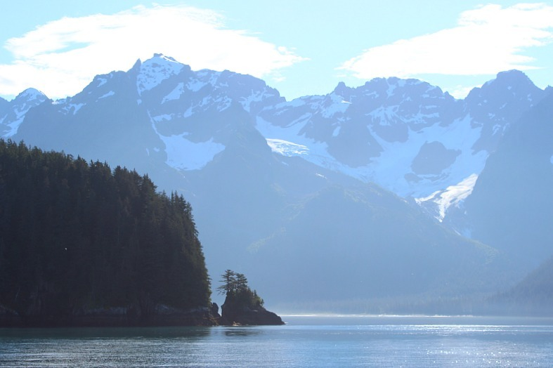 Beautiful Kenai Fjords National Park in Alaska