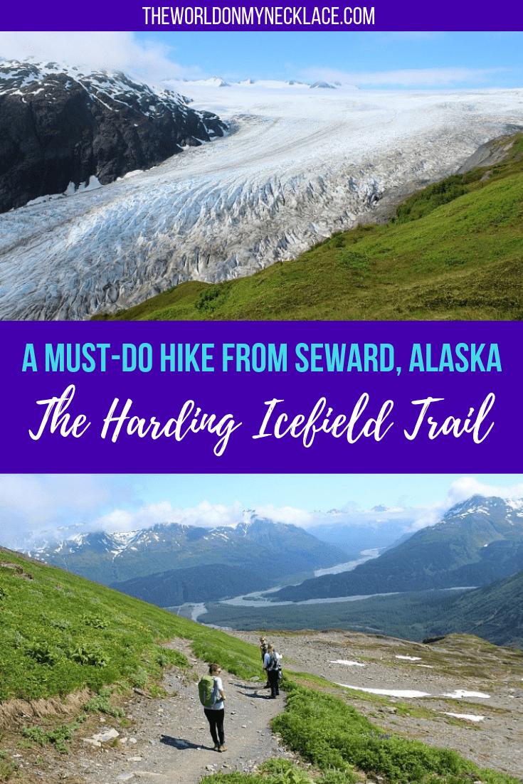 Hiking the Harding Icefield Trail in Seward, Alaska