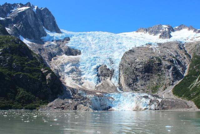 Glacier in Kenai Fjords National Park