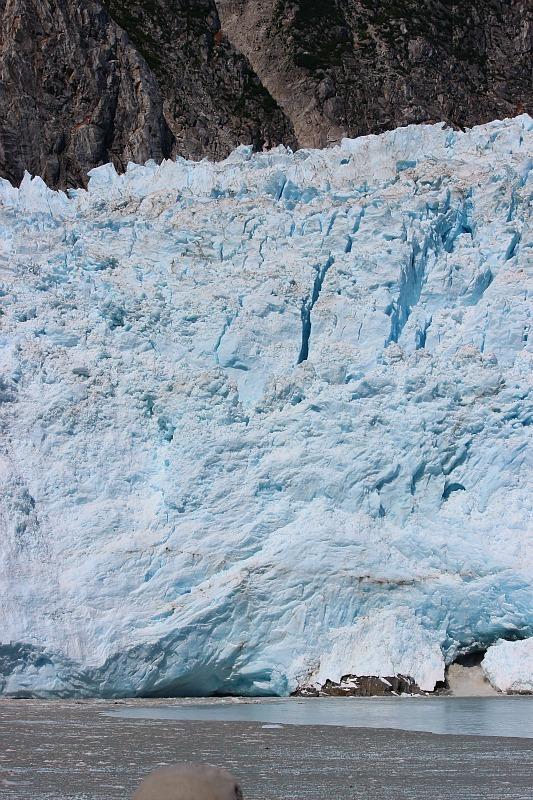Northwestern Glacier in Kenai Fjords National Park, Alaska
