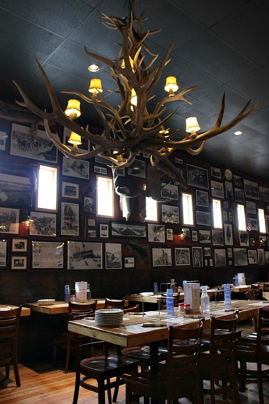 Prospectors Pizza in Canyon Village is a great budget option in Denali National Park