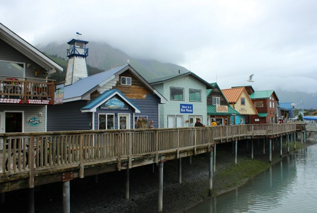 Seward Alaska Small Boat Harbour