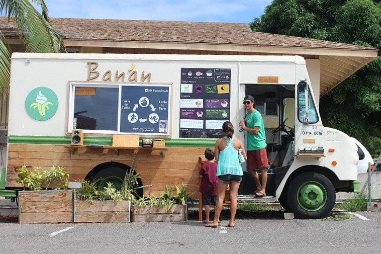 The local Banan Food Truck