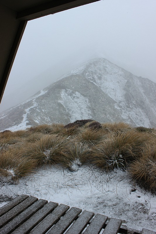 Blizzard on the Kepler Track during month five of digital nomad life