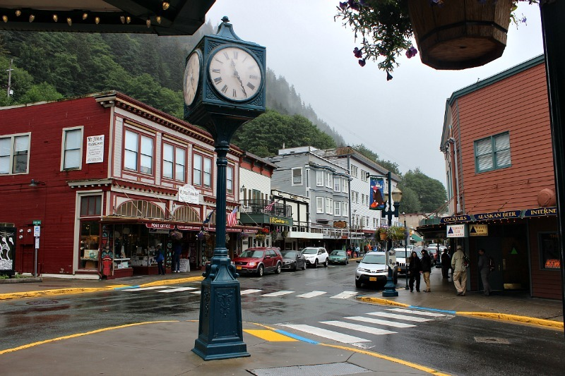 Checking out Historic downtown Juneau - part of my Summer in Alaska Itinerary