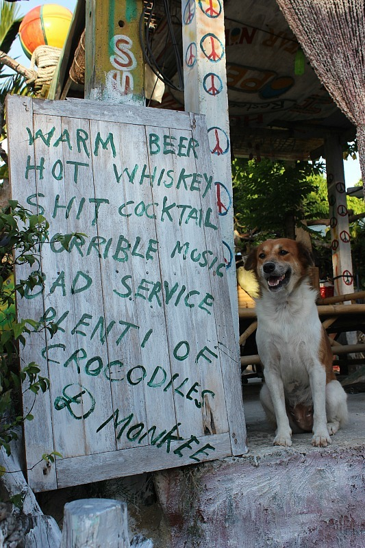 Discovering Home Bar on Koh Lipe during month five of digital nomad life