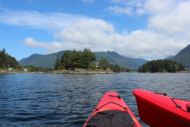 Kayaking in Sitka Alaska