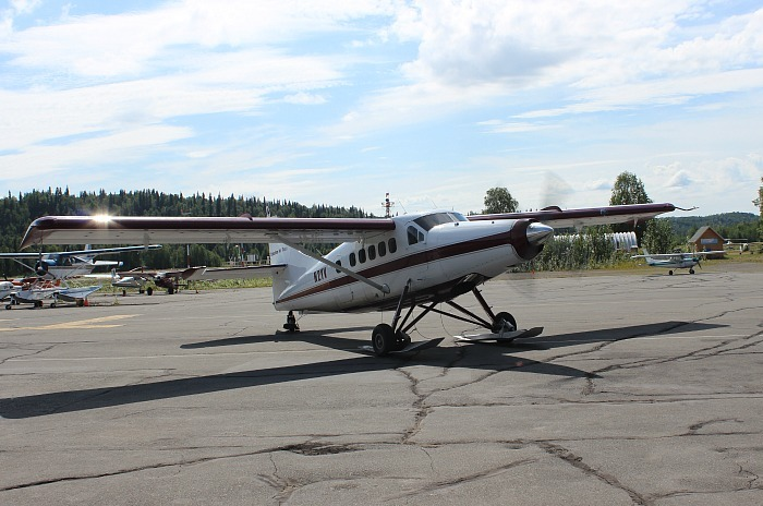 The tiny plane I went on for my Denali Flightseeing Tour