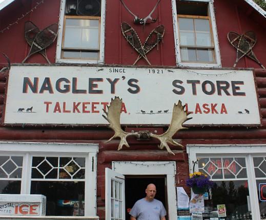 Famous Nagley's Store in Talkeetna Alaska