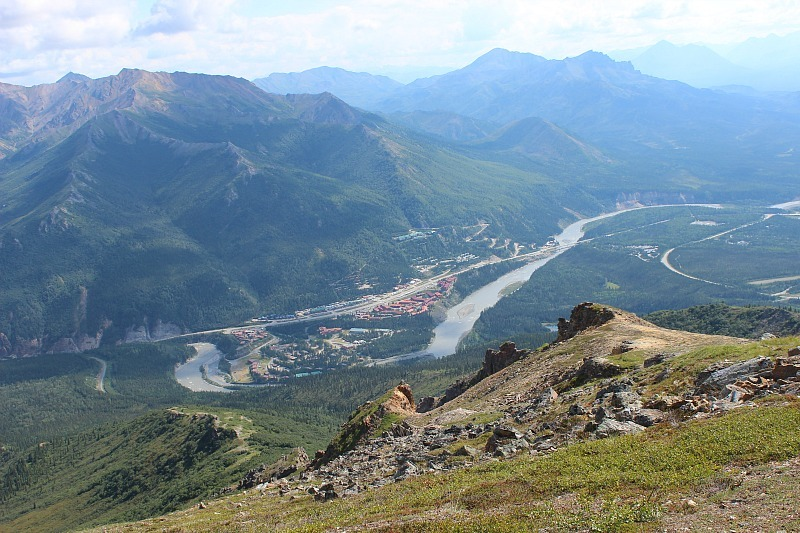 Nenana Valley and river