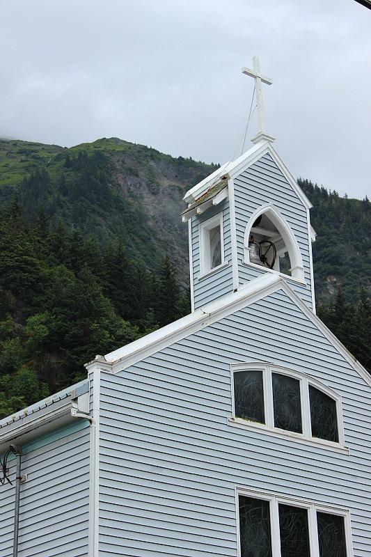 One of Juneau's churches