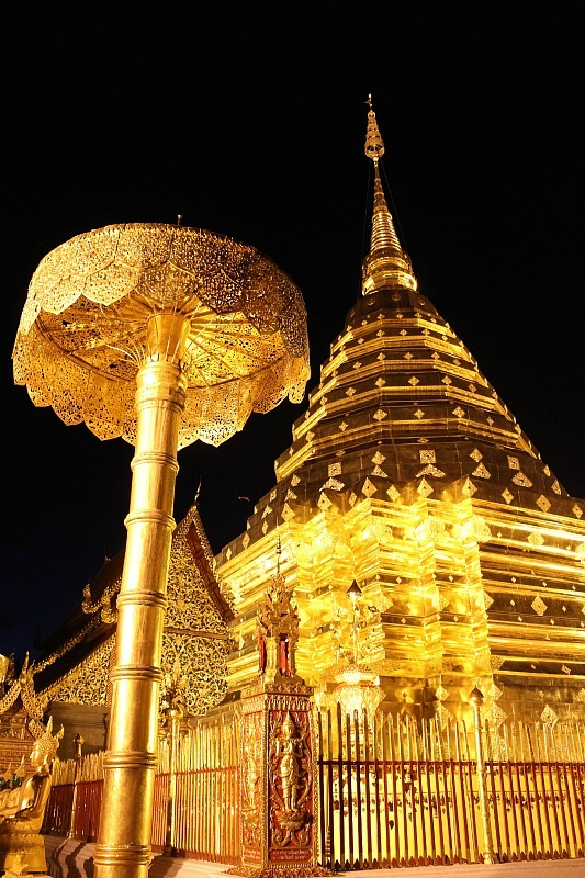 Visiting Wat Phra That Doi Suthep in Yangon during month five of digital nomad life