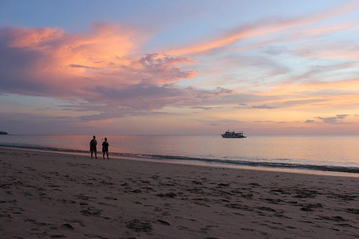 Enjoying a Koh Lanta sunset during month six of Digital Nomad Life