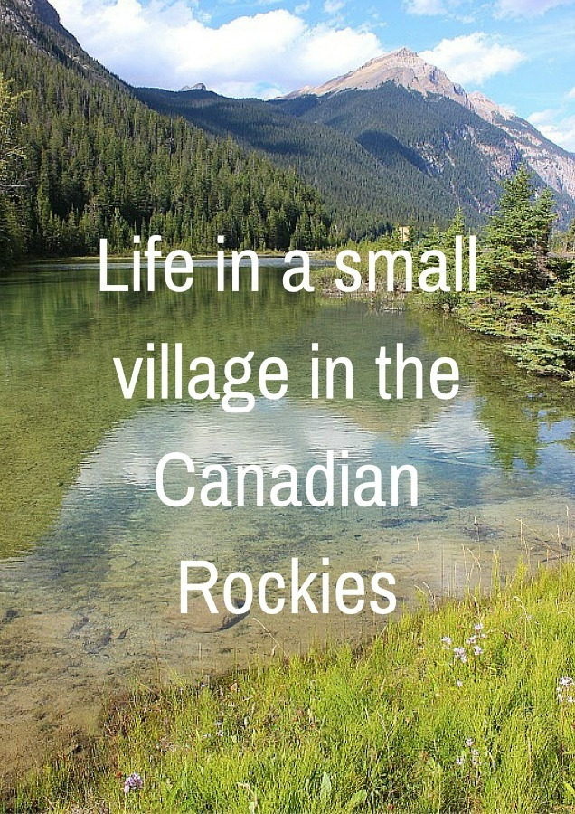 Life in a small village in the Canadian Rockies