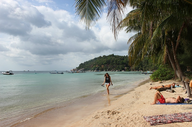 Sairee beach on Ko Tao