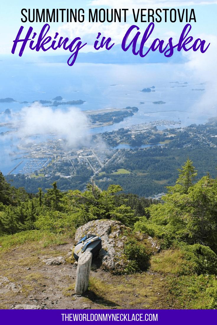 Summiting Mount Verstovia: Hiking in Alaska